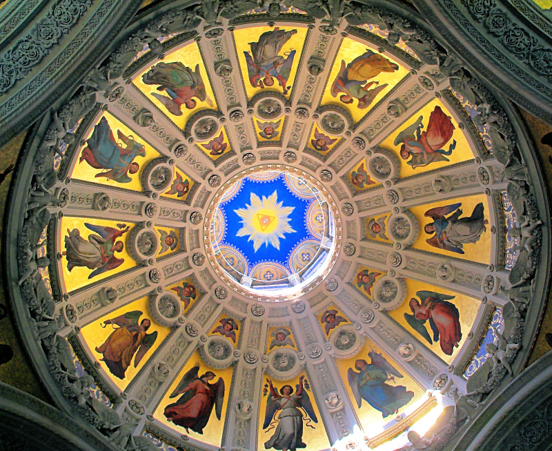 Kuppel der Russischen Kirche