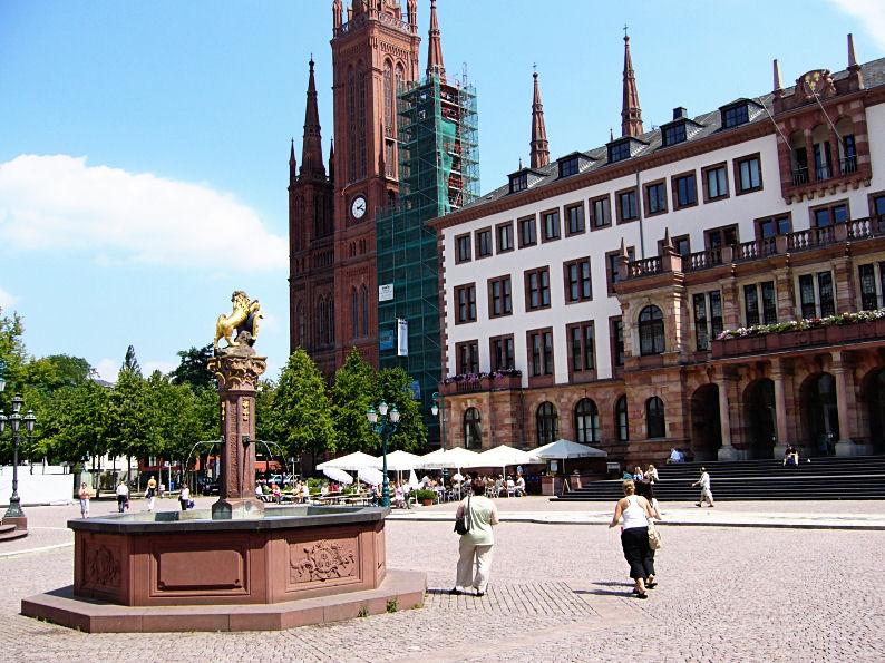 Marktplatz, Wiesbaden