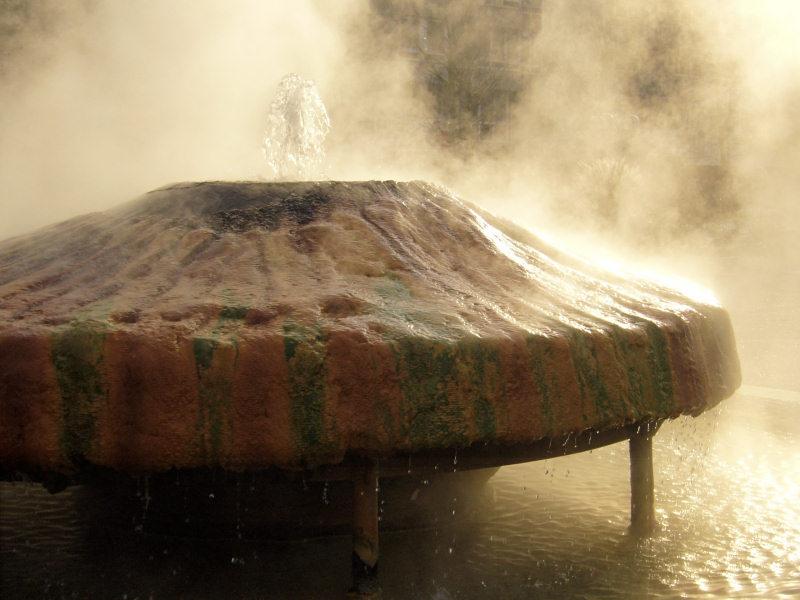 Heiße Quelle, Kranzplatz